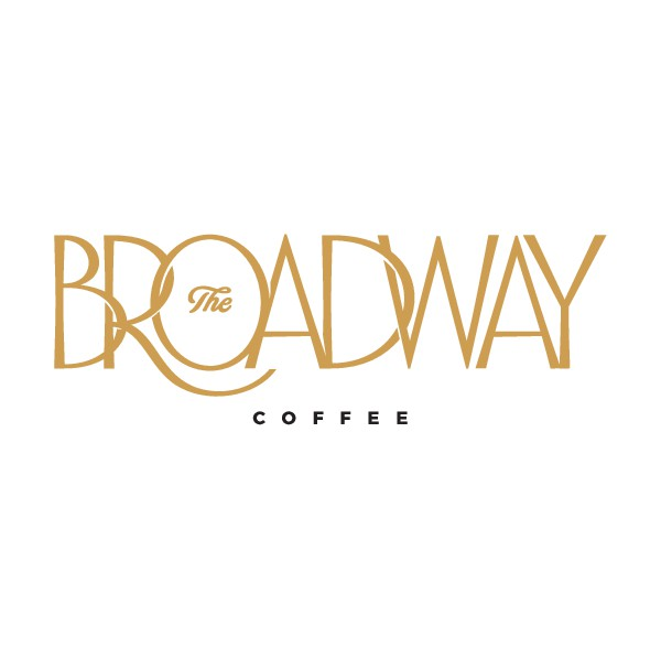 Design a sophisticated logo for The Broadway Coffee