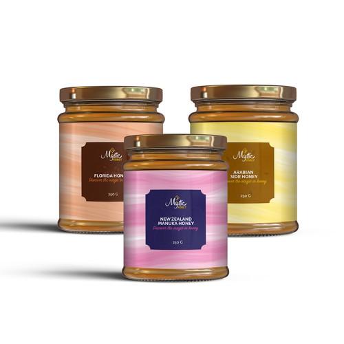 Label design for honey