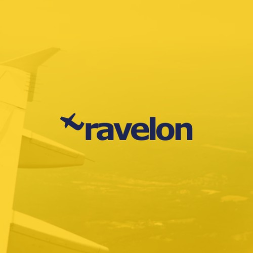 Simple travel company logo