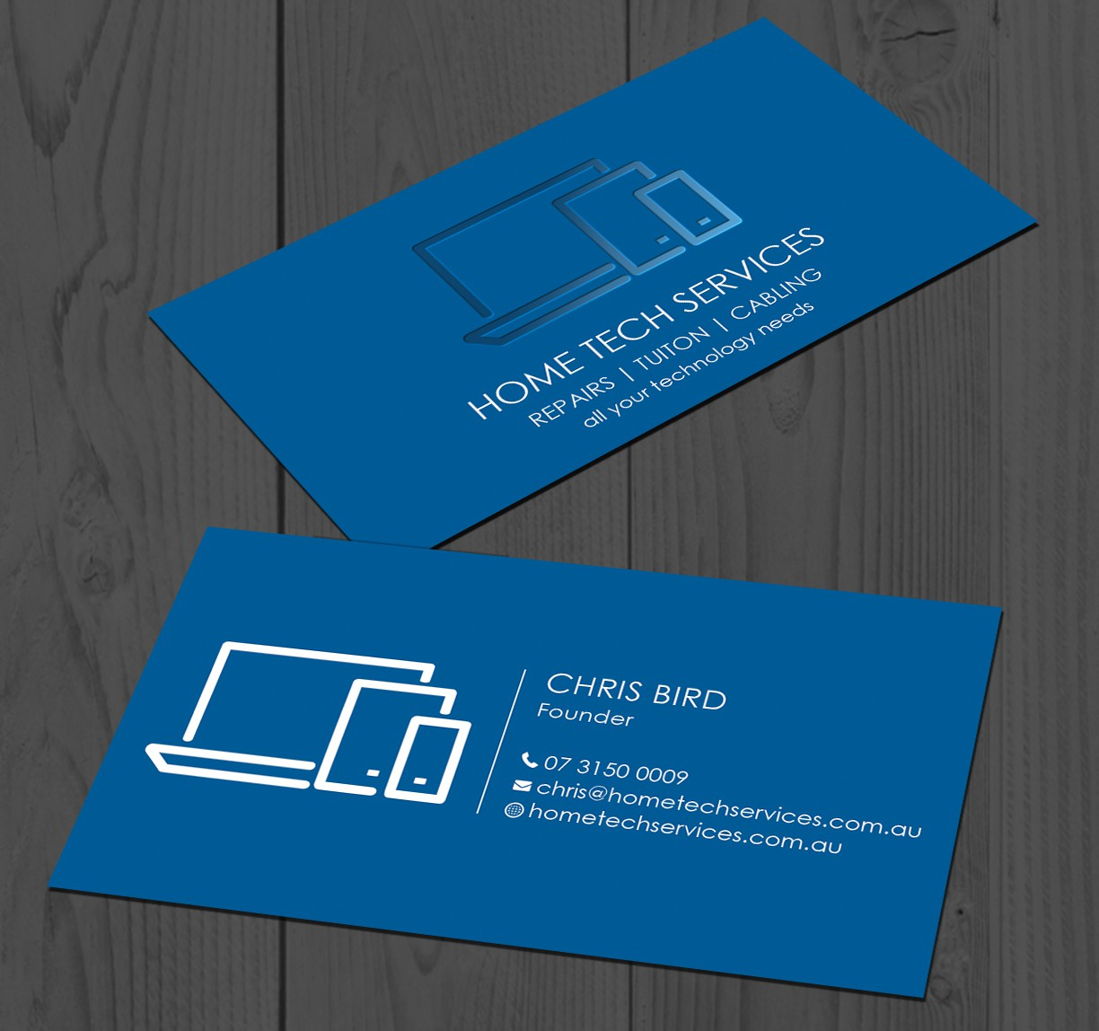 Business Card - Home Tech Services