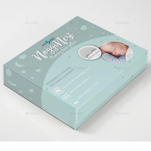 Memory foam pillow packaging