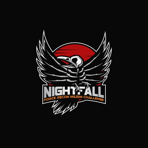 Nightfall#9 logo project