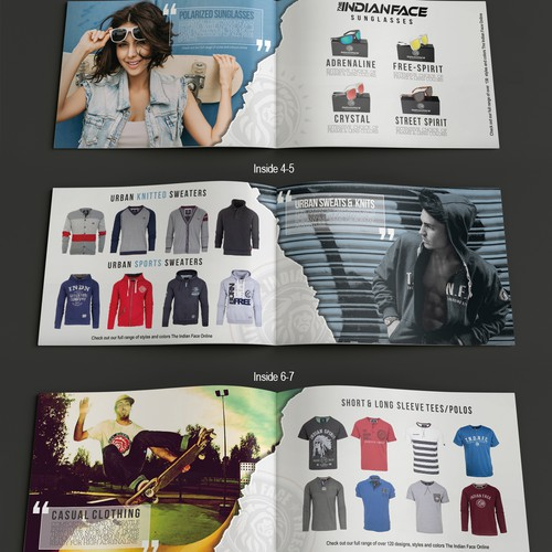 Booklet For Urban Apparel