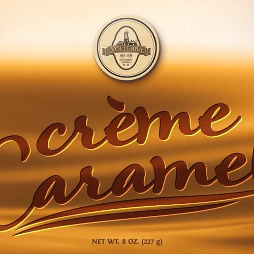 Packaging  Crème Caramel dessert