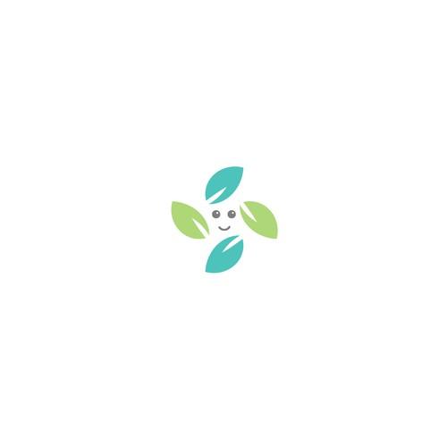 Logo design concept for crispy