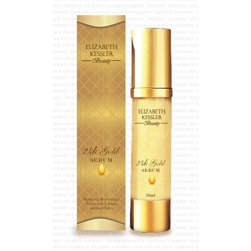 **GUARANTEED** New product packaging for Elizabeth Kessler Anti-Wrinkle Serum