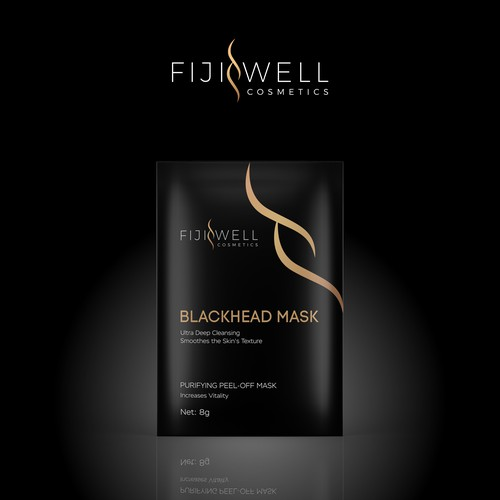 Luxury Blackhead Cosmetics Packets
