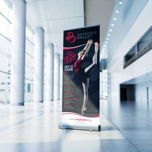 Trade Show Rollup Banner