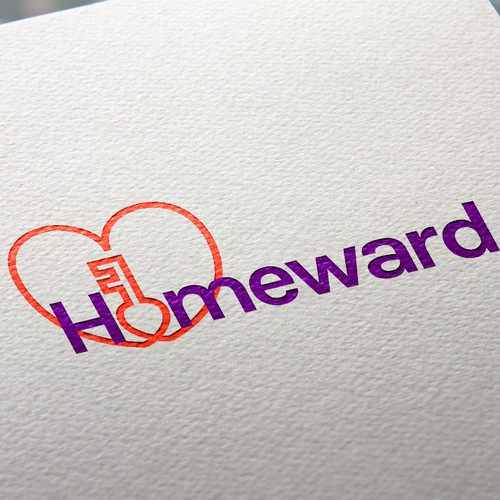 Logo for a housing charity