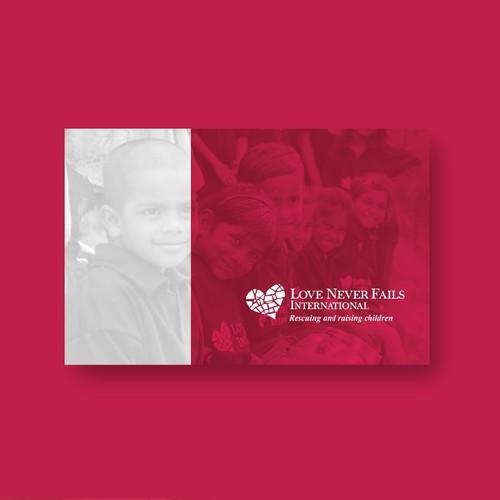 Booklet Design for Love Never Fail International