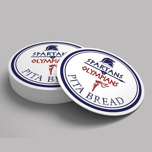 winning sticker design