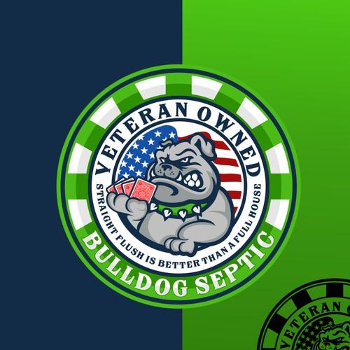 Design a logo and website for Bulldog Septic
