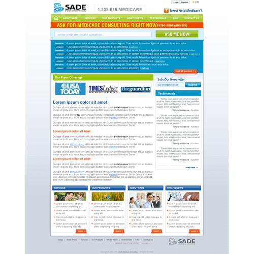 Website for a Florida Medicare consultant