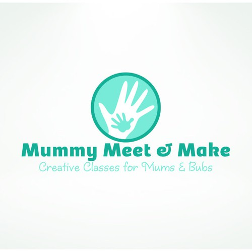 Logo design for classes attended by mothers