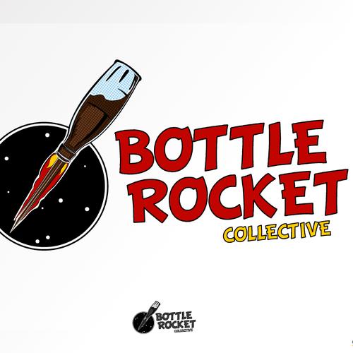 concept logo Bottle Rocket Collective