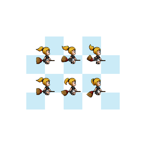 Create a pixel art character for a killer mobile game.