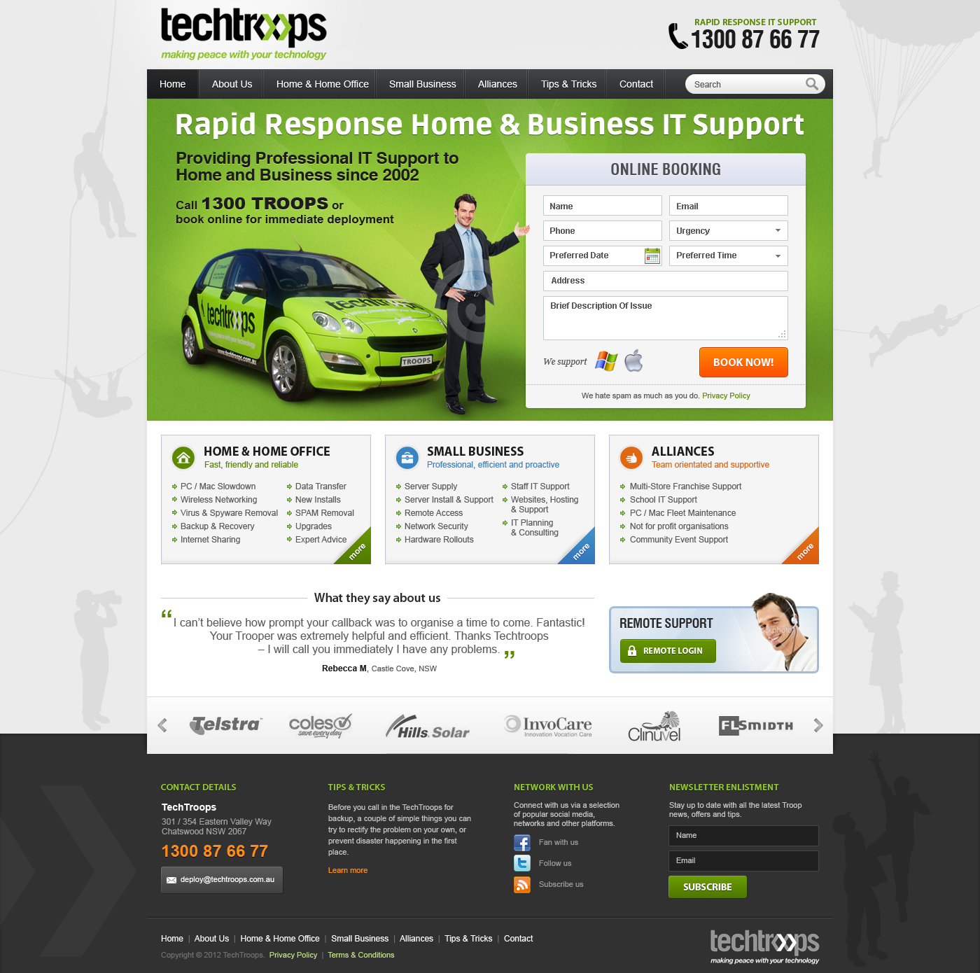 TechTroops seeks GREAT NEW website