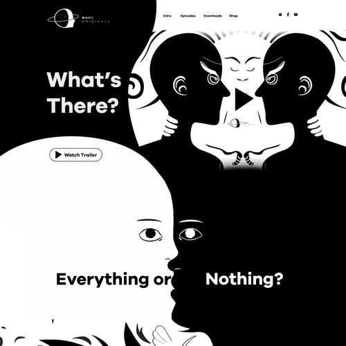 Philosophical Storytelling Website