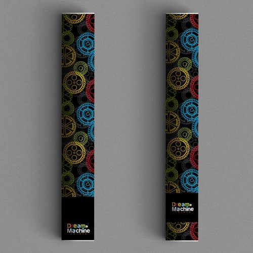 Colorful Shipping Tube Design for E-Commerce Art Shop