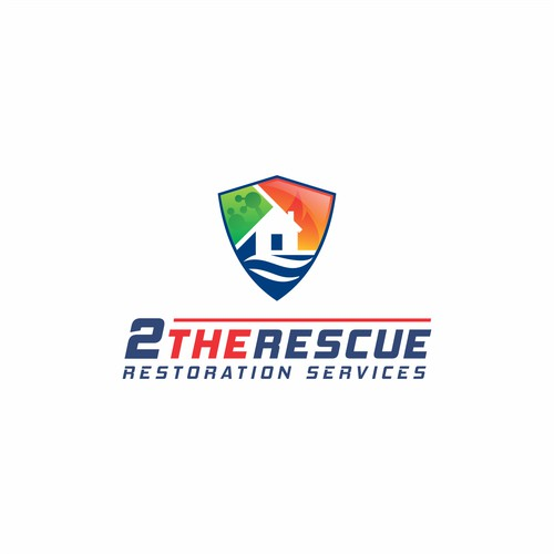 2 THE RESCUE RESTORATION SERVICE LOGO