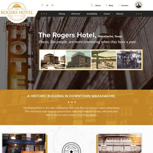Rogers Hotel Web Design