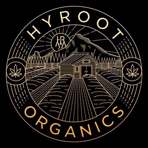 HYROOT ORGANIC T-SHIRT DESIGN