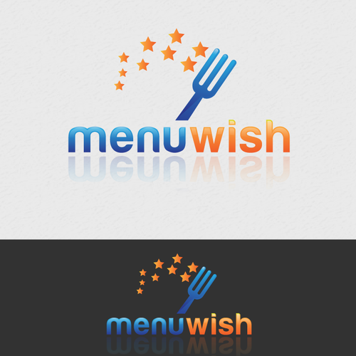 Create the next logo for Menu Wish