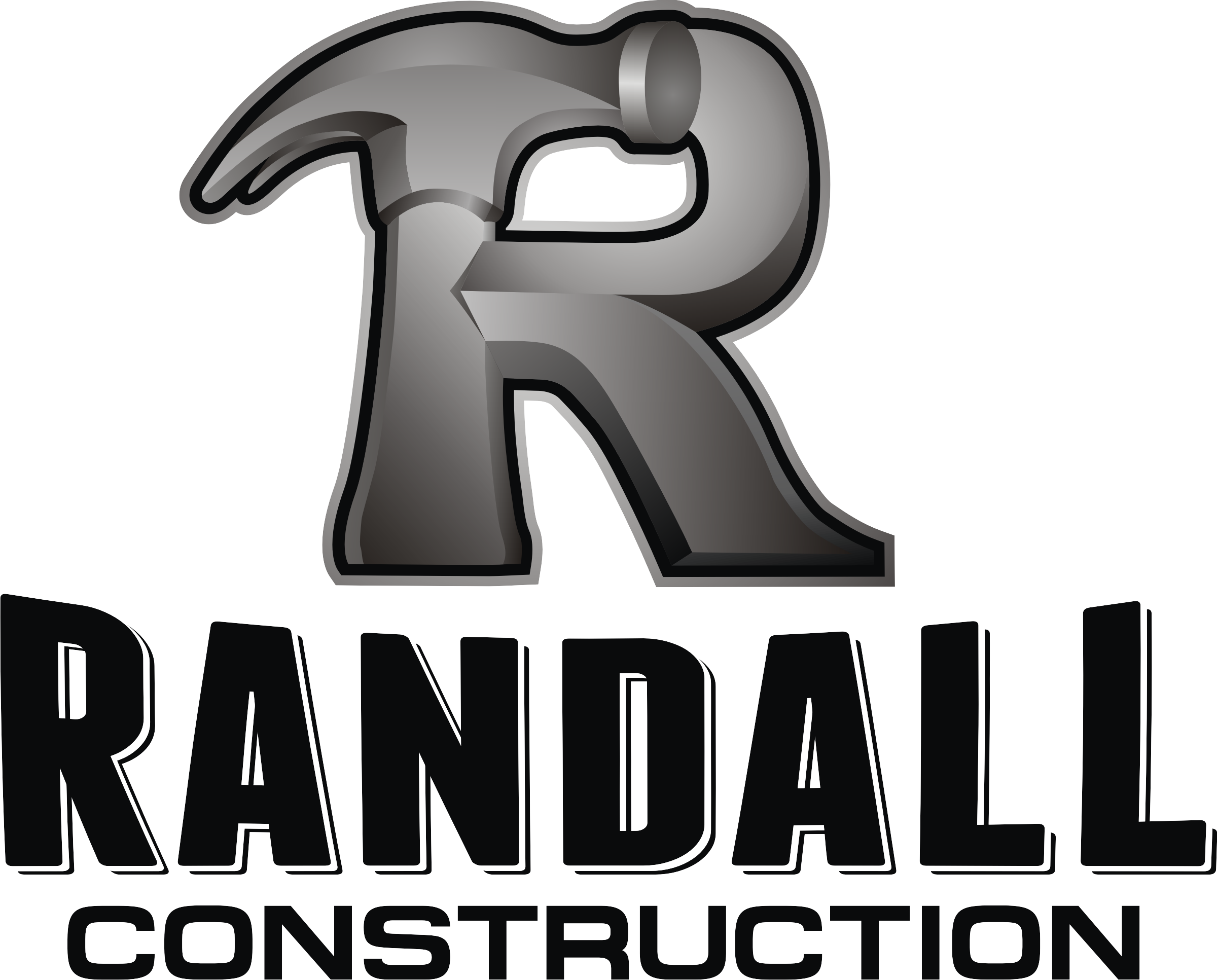 Create a wicked cool construction logo for Randall Construction