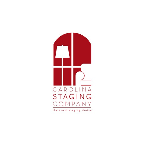 Logo for staging company