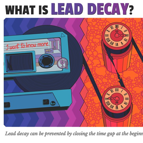 """Lead Decay"" article artwork"