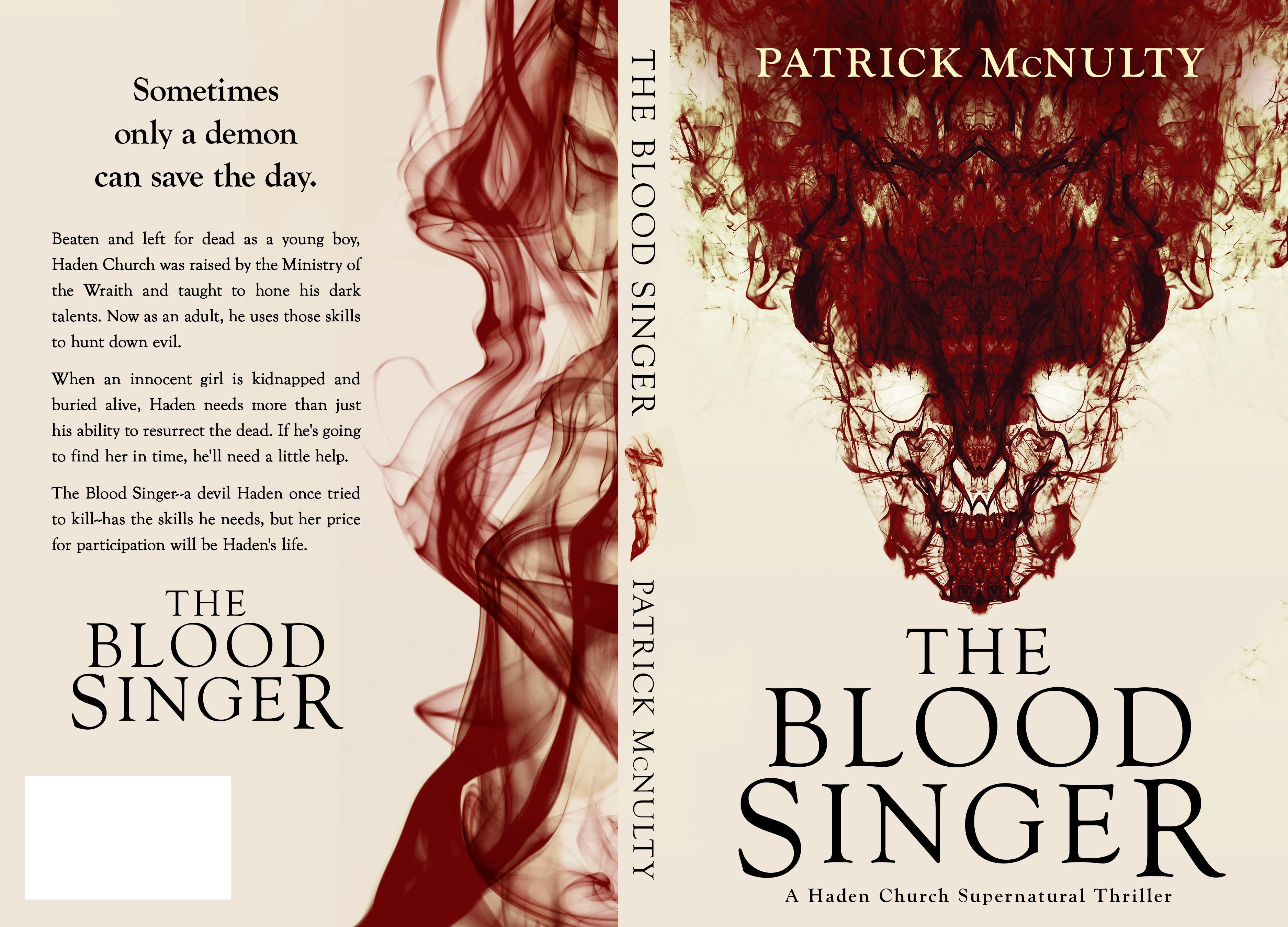 Dark supernatural thriller needs an amazing book cover!