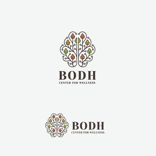Logo Design for BODH - Center for Wellness