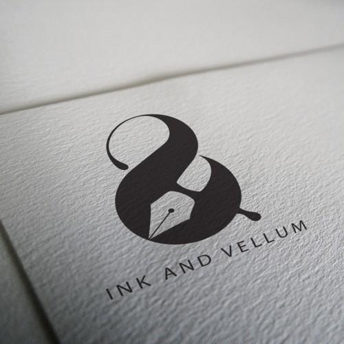 Bold logo for copywriter/copyeditor