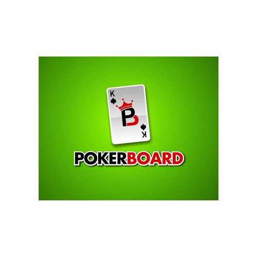 Create a powerful yet simple logo for Pokerboard