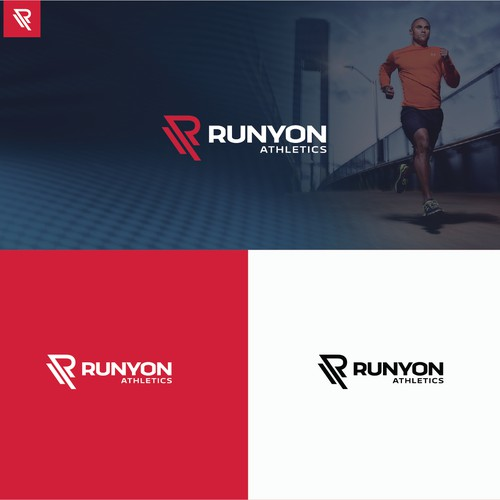 Logo concept for Runyon Athletics