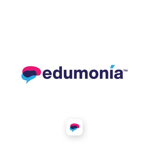 Logo concept for learn management system