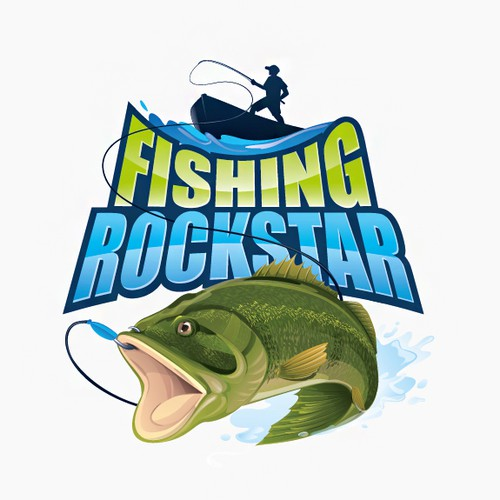 Fishing Rockstar needs a catchy logo!