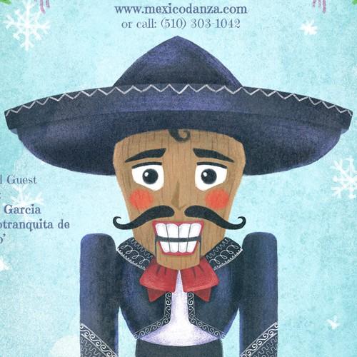 Nutcracker design for Ballet Folklórico México Danza