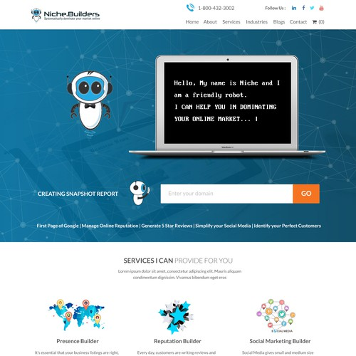 Niche Builders Website Design