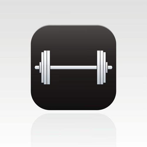 New powerlifting app - iOS7 App Icon