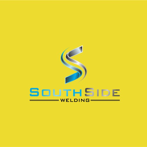 Create a unique industrial pipework logo for SouthSide Welding