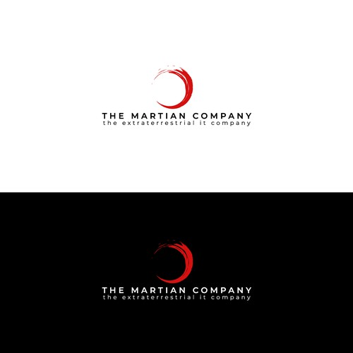 Logo and brand identity for a computer company