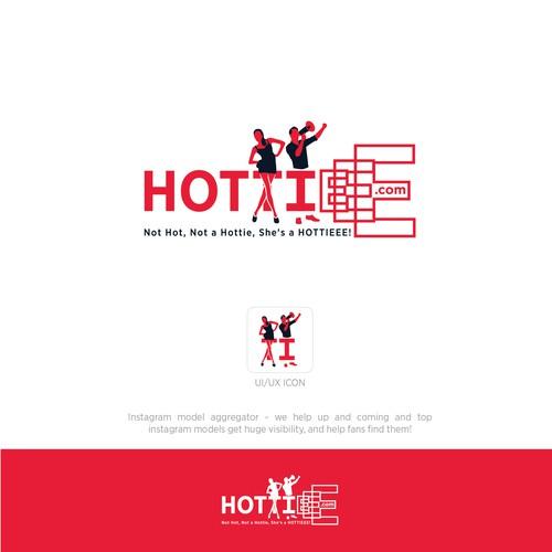 Hottieee logo