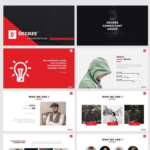 Presentation concept for business