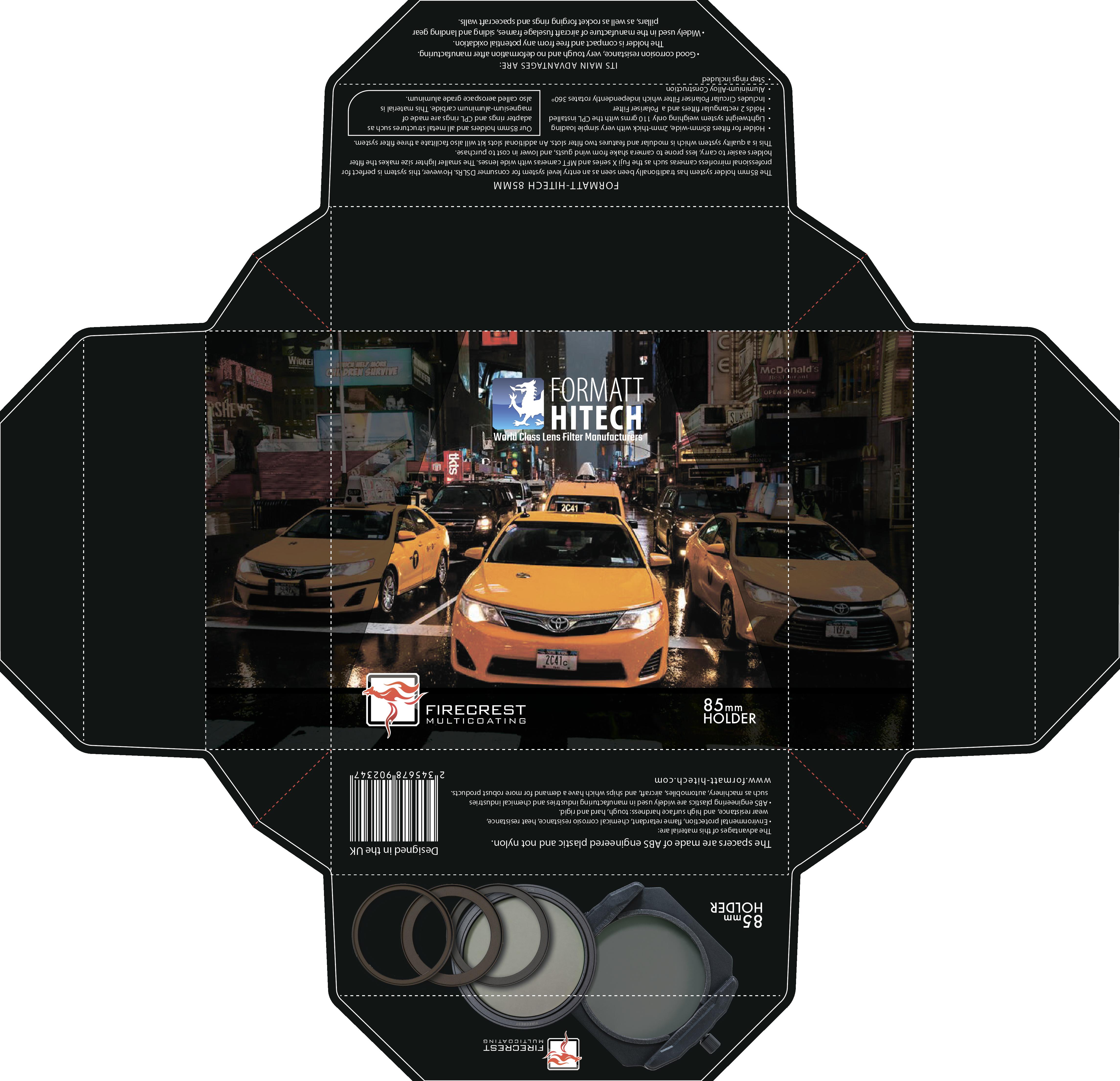 Packaging for our new Formatt Hitech holder