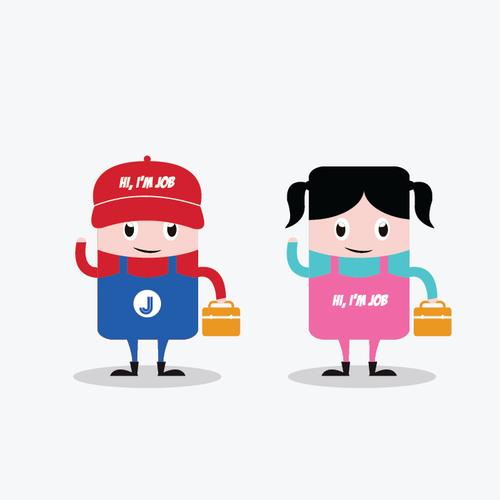 Character Cute Logo