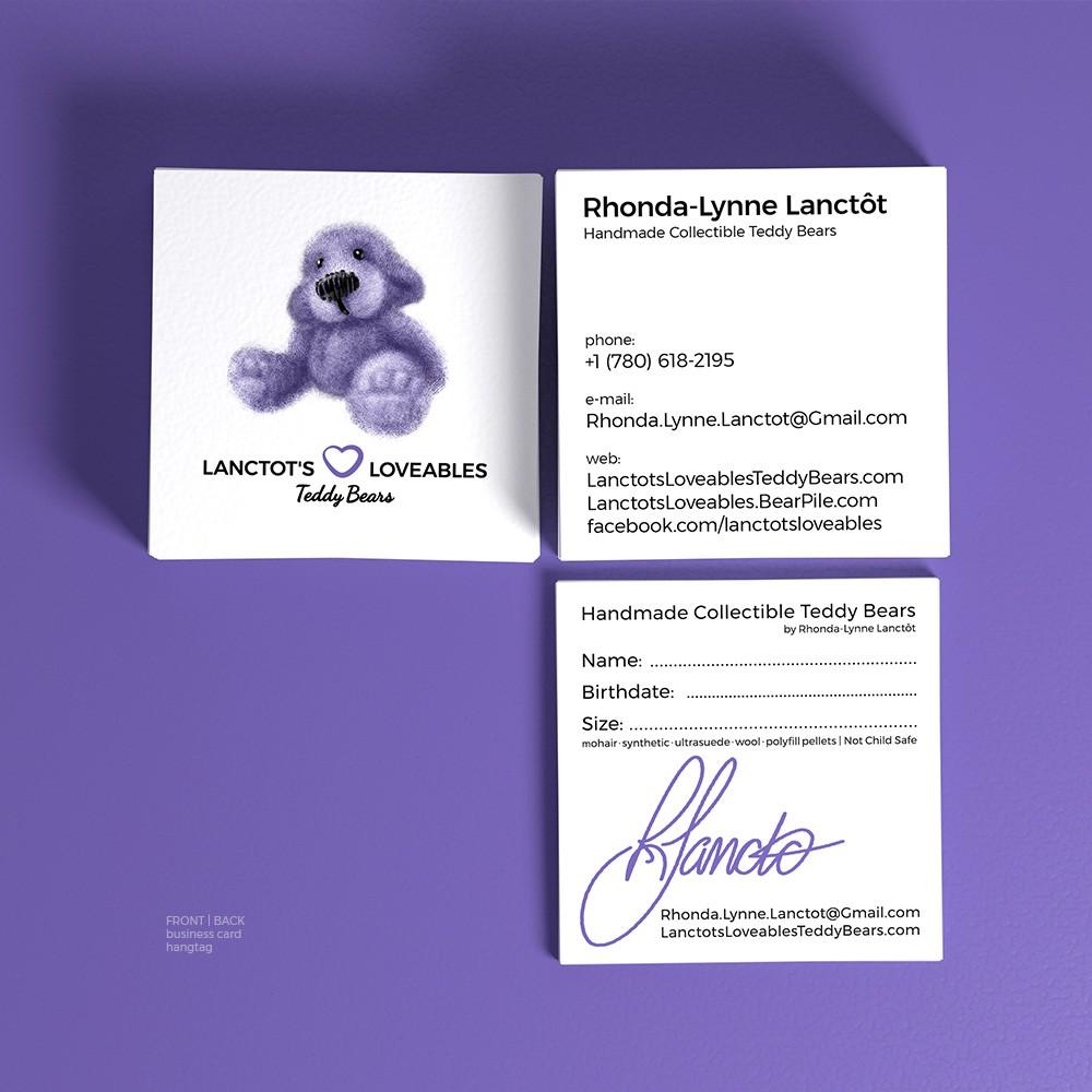 Lanctot's Loveables Business Card