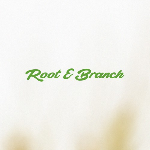 Logo concept for Root & Branch