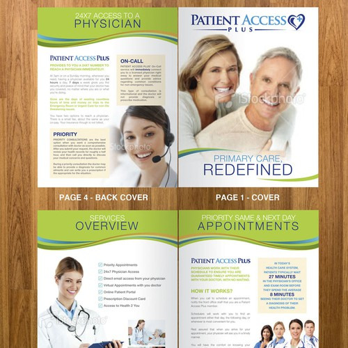 Brochure Design for Patient Access