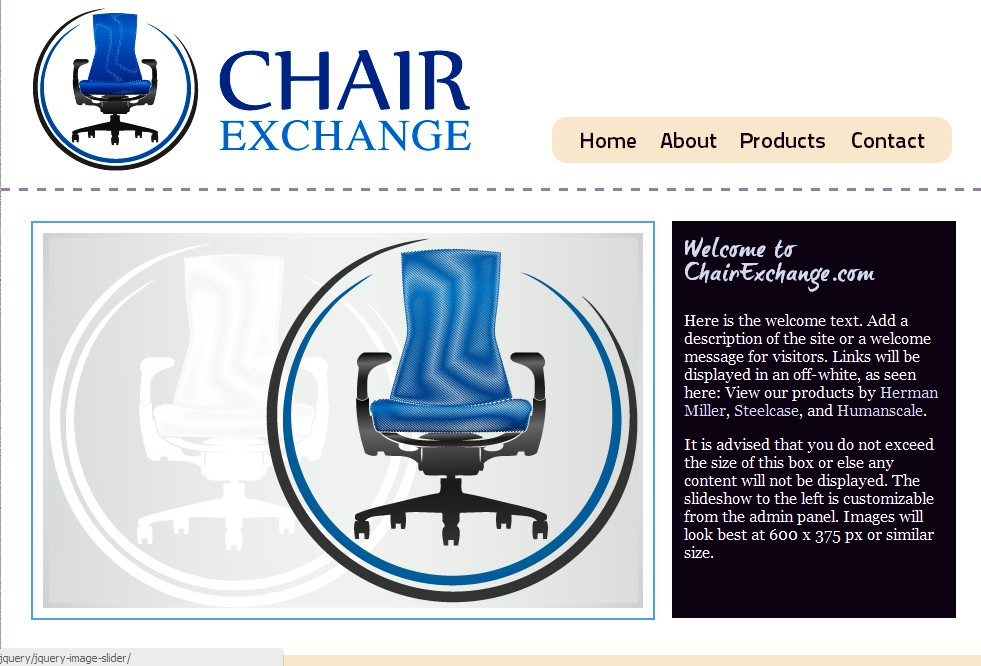 The Chair Exchange - logo wanted